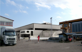 Producing plant and storage base of Monolit-99 Ltd., town of Gorna Oryahovitsa