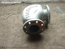 Коляно, устойчиво на износване за циментови проводи Ф125/90