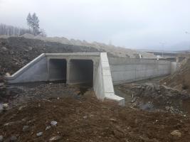 Rectangular culvert 2x300/250cm, L=2х22m on Gabrovo detour road