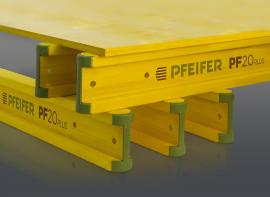 H20 timber formwork beams